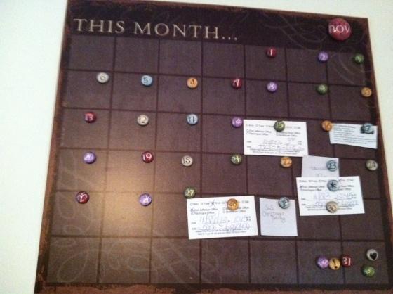 sono calendar